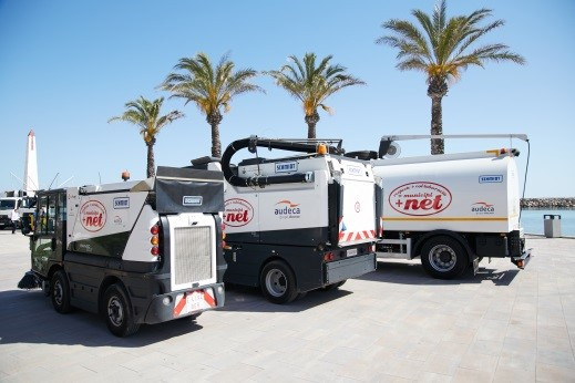 Municipal waste collection service, green park management and street cleaning in the municipality of Santa Margalida (Balearic Islands)