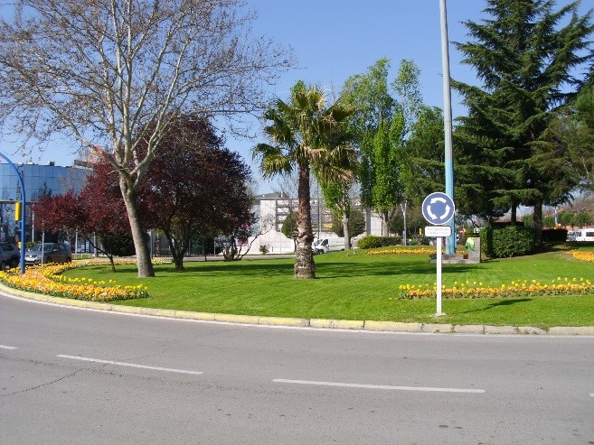 Maintenance service, conservation of green areas and beautification of various neighborhoods in the city of Getafe